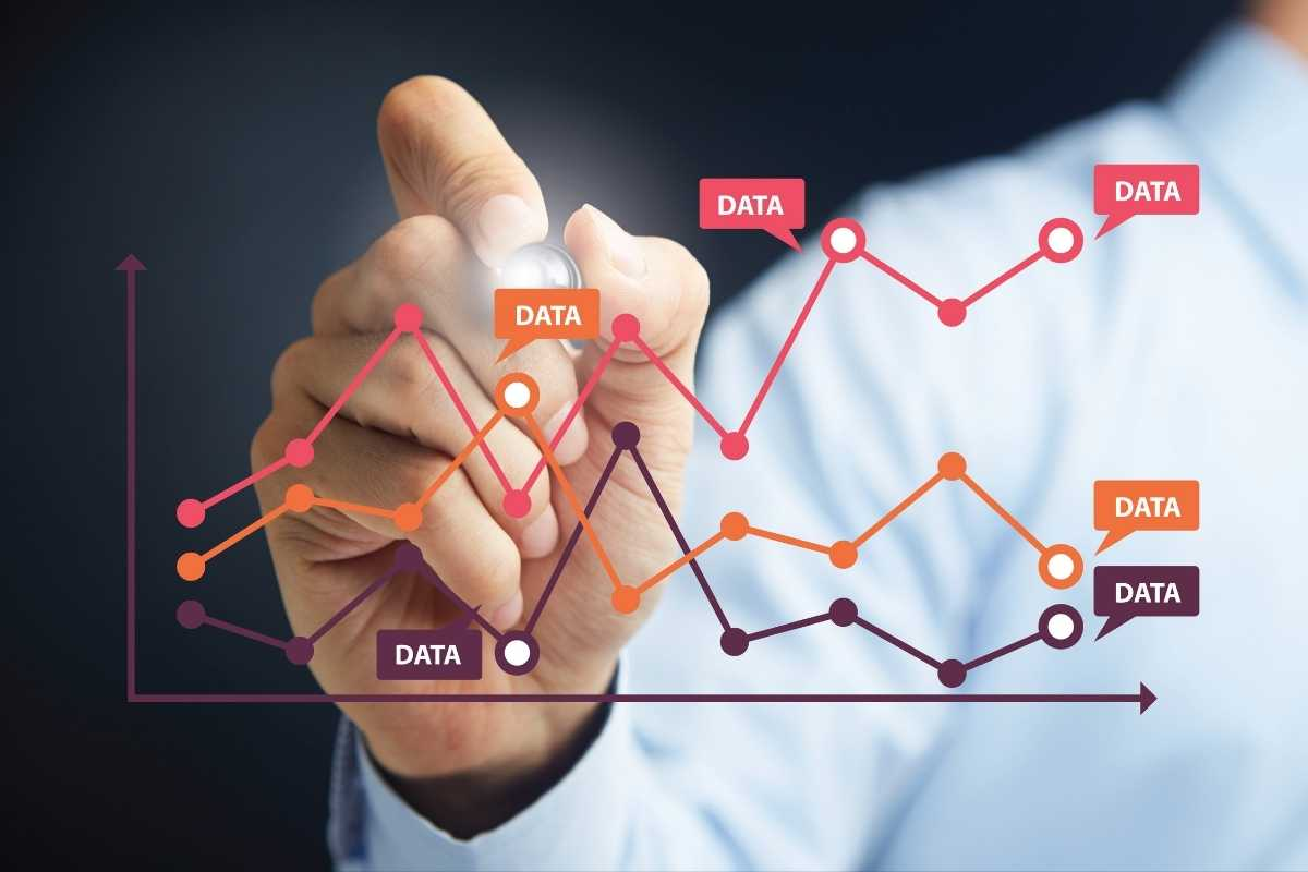 Data visualization tools provide a user-friendly way to see and understand information and be able to recognize trends, outliers, or patterns in the data.